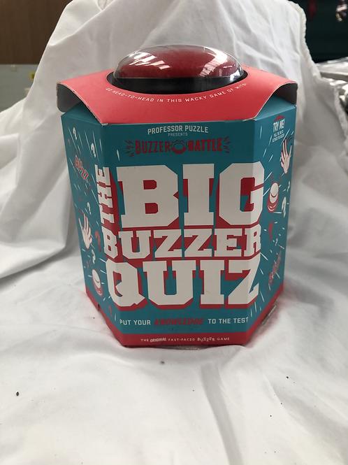 The big buzzer quiz game new (GC7)
