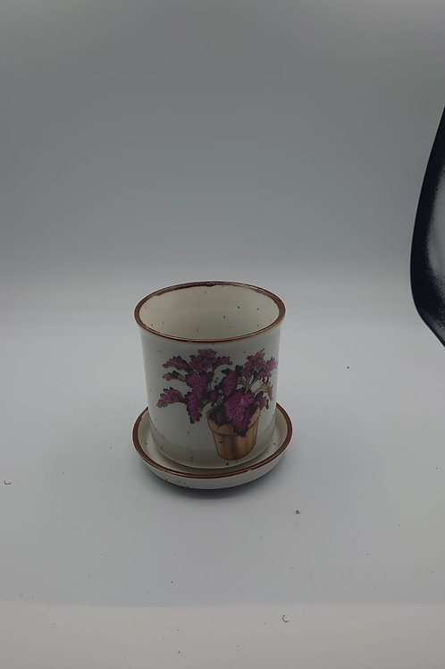 Flower Mug and saucer (market1)