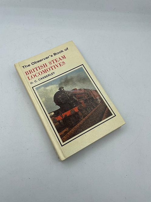 The observers book of steam locomotives vintage (D1)