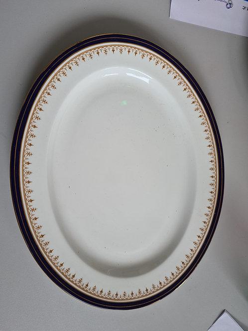 Aynsley oval platter (A)