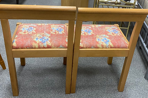 2x Wooden Small  Chairs (SS Dine 45 SC)