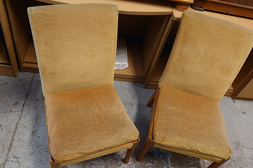 2 x Vintage Parker Knoll chairs (SS Dine 117 PN)