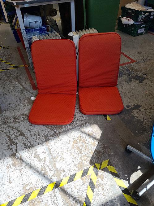 High back garden seat cushions (1:1)