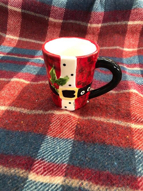 Christmas Mug with label on bottom (XMAS10)