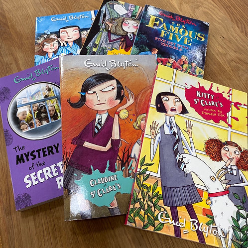 Collection of Enid Blyton books (SS books 7)