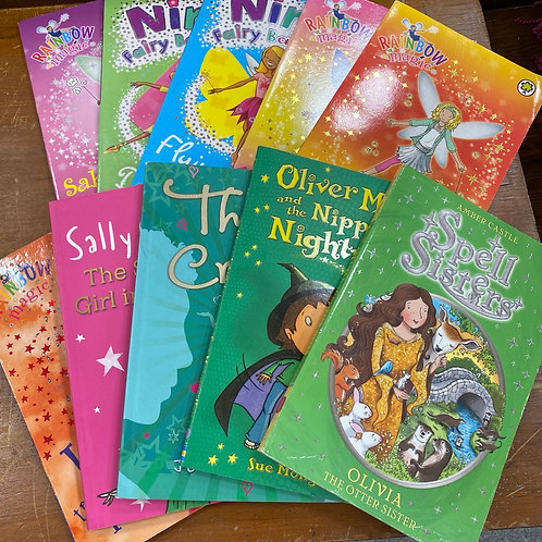 Set of 10 childrens books ( SS book bundle  10)