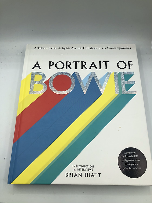 A portrait of Bowie book (C)