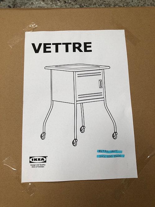 New IKEA Vettre Bedside table duck egg blue (MW)