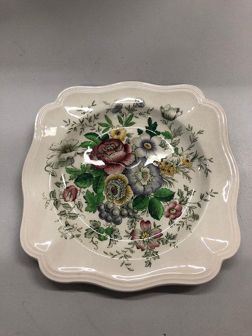Decorative Floral plate (R1)