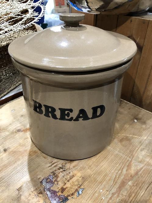 Heavy stoneware bread bin (O1)