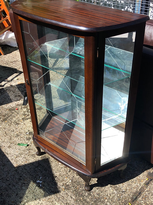 Glass cabinet display case
