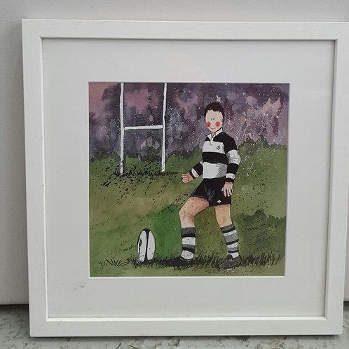 Alex Clark framed print (B)