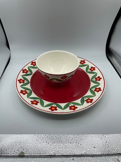 Whittards bowl and plate (D)