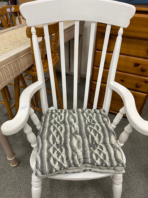 White large wooden chair (SS dine 72)