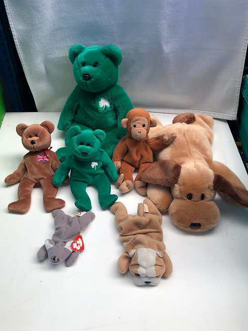 Untagged beanie baby and buddies collection (0:2)