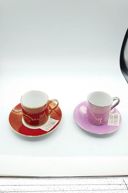2 x espresso cups (market 8)