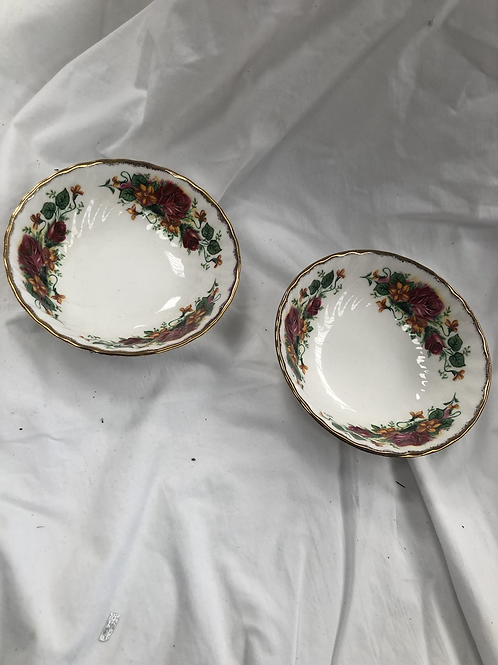 Bone China bowls (N1)