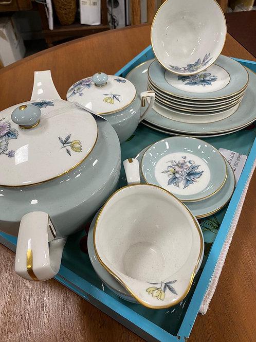 Royal Worcester China Woodland tea set