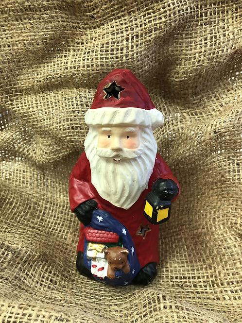 Santa Tealight Holder (XMAS8)
