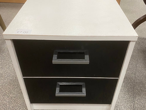 Bedside Cabinet (SS Bed 053 White)