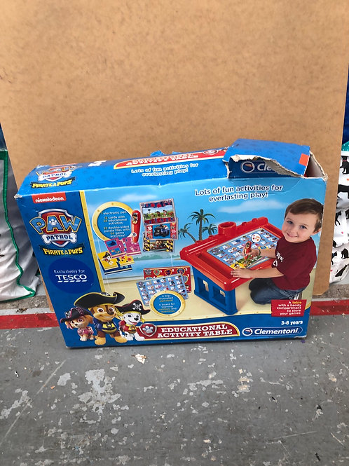 Paw Patrol Activty Table