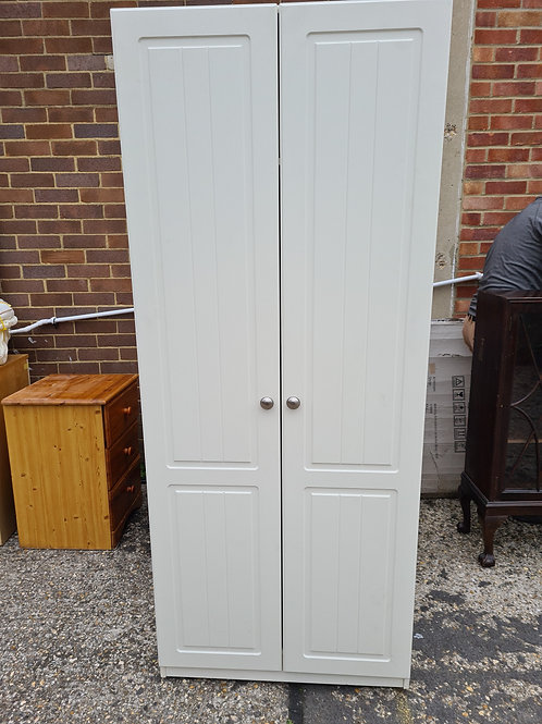 Single width double door wardrobe (micah)