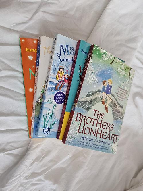 5 x children's paperbacks