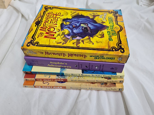 5 x children's paperbacks