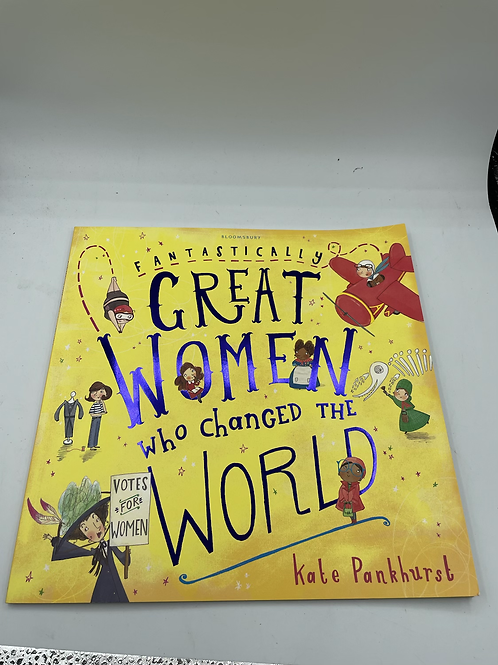 Great women of the world children's book (X)