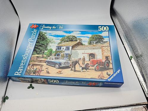 New greeting the vet jigsaw 500 piece (GC1)
