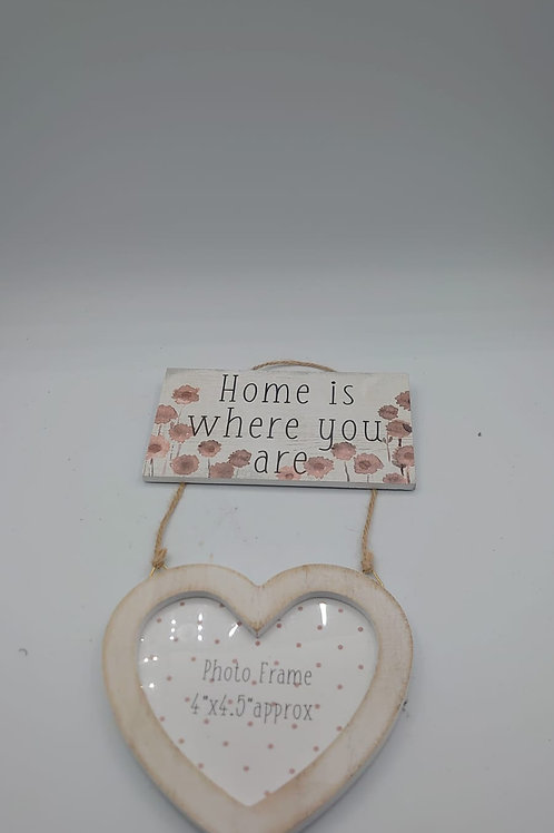 Home photo hanging sign (market1)
