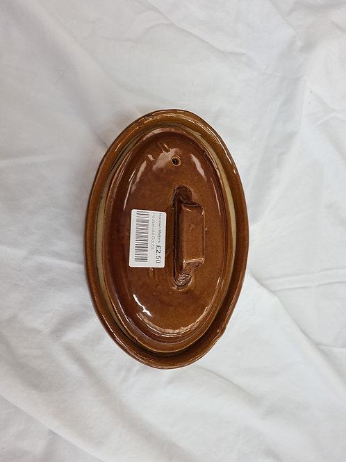 Small lidded ovenware dish (ES3)