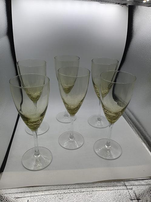 Set of 6 wine glass (X)