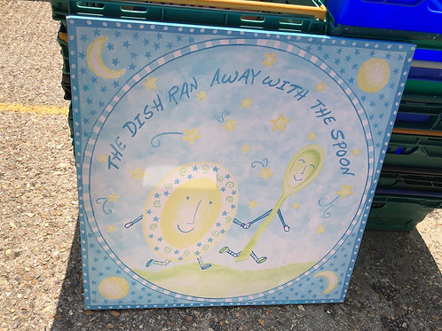 Beautiful Nursery Rhyme Canvas (1:3)
