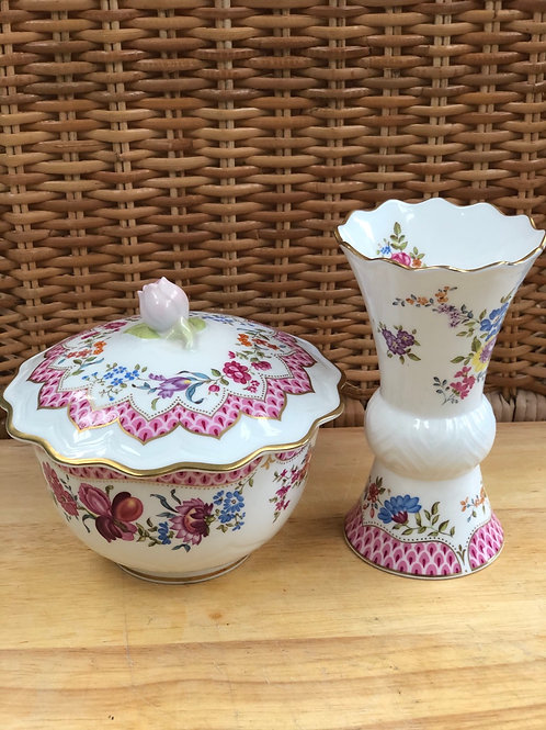 Royal Worcester Dressing Table Set (N)