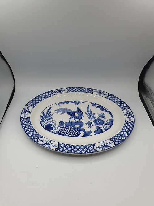 Blue and White Plate (r1)