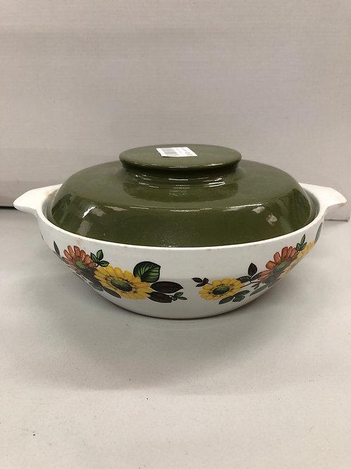 Ceramic decorative serving dish (Q1)