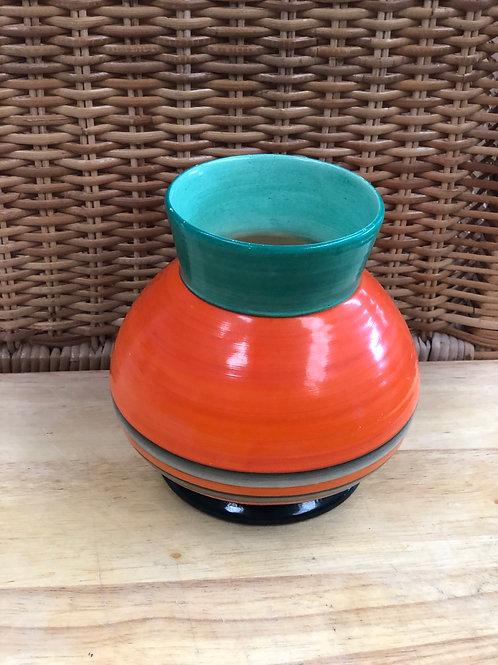 Orange vase (J)