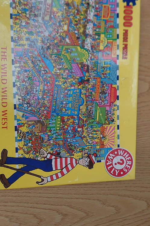 1000 piece Where's Wally puzzle (GC3)