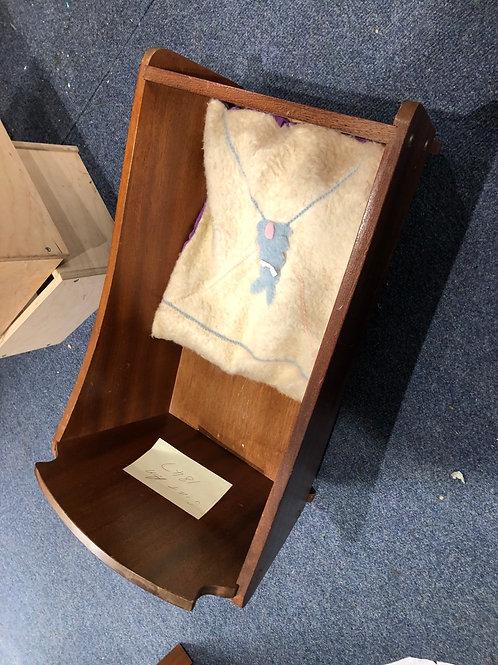 Vintage Wooden Cot