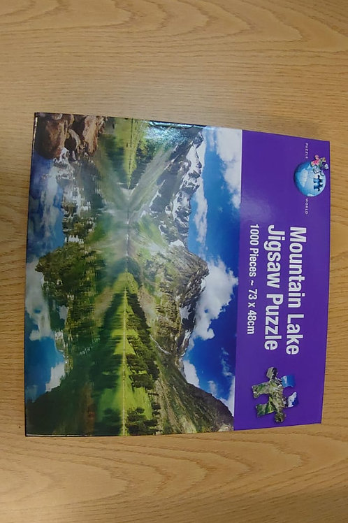 Mountain Lake jigsaw 1000 piece (GC1)