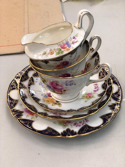 1 Person Antique 'The Foley' China Tea Set (O)
