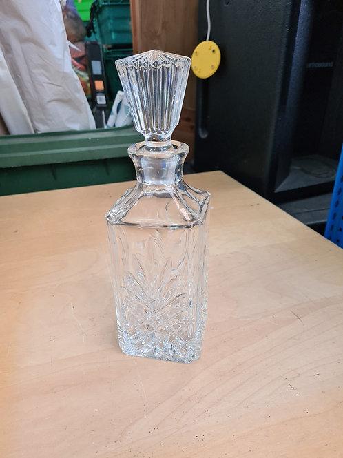 Square spirit decanter (C)