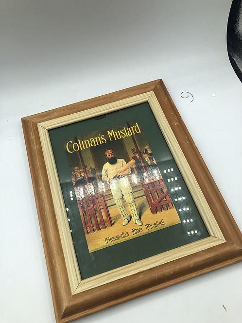 Colman's mustard vintage picture (Q1)