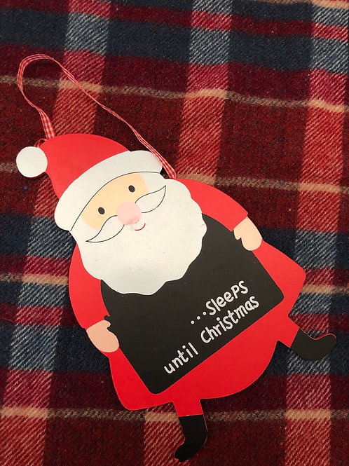 Father Christmas hanging sign (XMAS11)