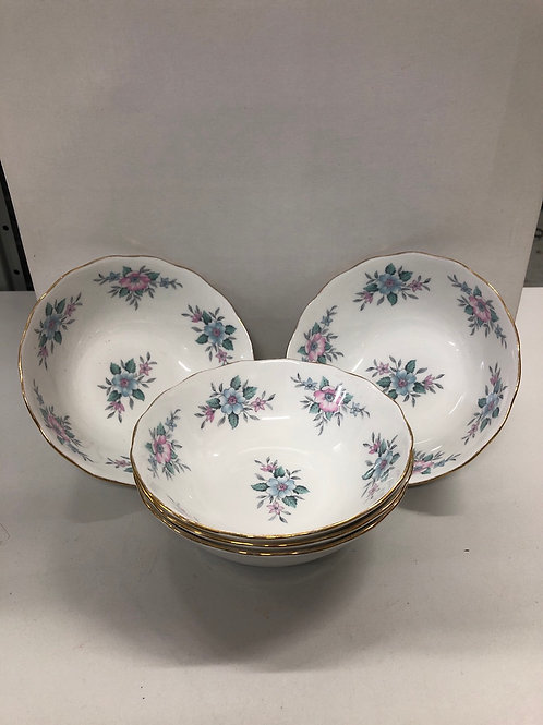 Floral decorative 5 x bowls (R1)