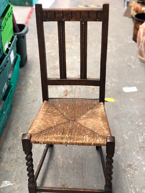 Wicker vintage chair