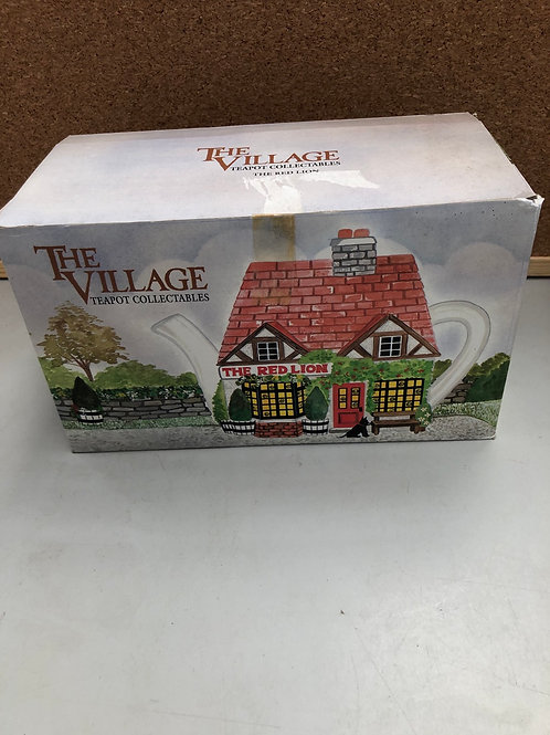 The village teapot- the red lion (S)
