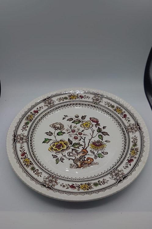 Dorsetware plate (market4)