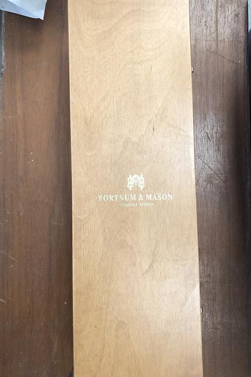 Fortnum and mason wooden champagne presentation box (A)